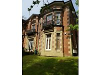 Substantial 2 Bedroom Furnished Ground Floor Flat with Garden & Off Road Parking