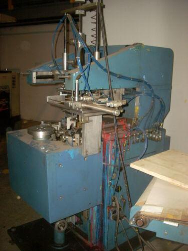 Autoroll Padflex R three color pad printer