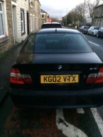 BLACK BMW 316 USED DAILY. 10 MONTHS MOT QUICK SALE £500 (OVNO)