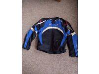 Rift motorbike jacket and trousers