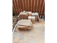 Pavers and block paving bricks