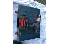 BOSCH PROFESSIONAL 36 VOLT LITHIUM ION BATTERY DRILL WITH CASE AND CHARGER