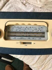 Pye 2 band valve radio