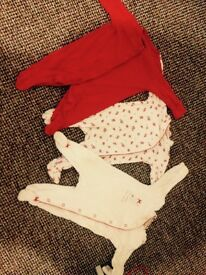 Next girls 3-6 month sleepsuits £2