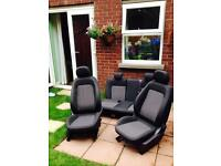 Original Vauxhall Corsa D full set seats, 5 doors - perfect condition ( fit models from 2006 - 2014)