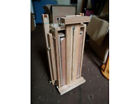 Beautiful folding wooden artist easel - BRAND NEW in wrapping