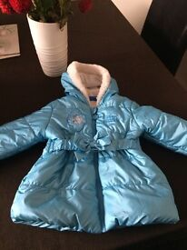 Frozen girl coat size 2-3 years old, great condition