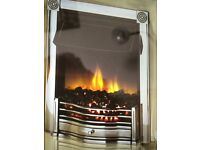 Dimplex Flame & Coal Effect Electric Fire Insert with fan heater to fit standard fireplace