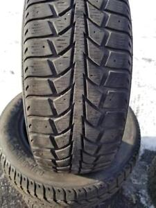 4 PNEUS HIVER UNIROYAL 185 60 15  - 4 WINTER TIRES