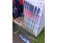 Beautiful Callaway X18 Tour, great shape, forged irons 3-PW with regular 6.0 flighted rifle shaft