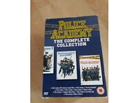 Police Academy complete boxset collection. Great comedy