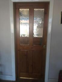 Internal obscure glass door
