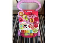 Vtech first steps walker pink £10