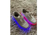 Flashing trainers