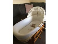 Mothercare Cream Moses Basket