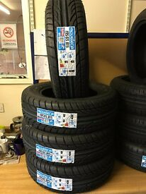 "New and Part Worn tyres sizes available to 13"" 14"" 15"" 16""17""18""19"" all include from £15 each"