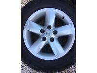 4 Nissan Qashqai Juke Alloys Tyres 215/65/16