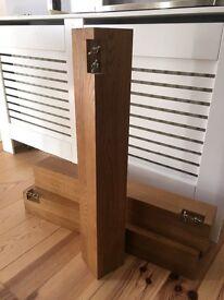 Solid oak table legs