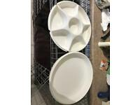 Tupperware Dip Tray with Lid