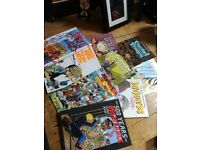 Graphic Novel Comic Joblot Carboot