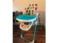 Cosatto noodle high chair monster mash