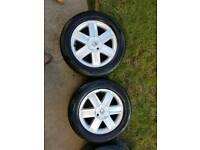 16 inch Renault Wheels & New Tyres - for clio megane scenic Kangoo