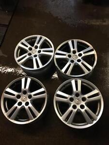 Mazda 3/5/6 MPV 16inch Rims 5x114,3 ( set of 4 Used Rims )