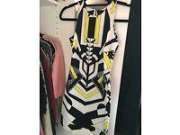 Woman's print dress size 8