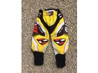 Motocross trousers size 34""