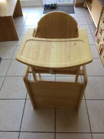 East Coast Comination Wooden High Chair