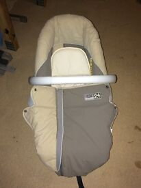 Jane 04 Skye blue and cream pram and car seat