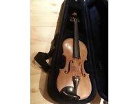 1900 c Violin by Thomas Craig, Aberdeen - Soft case included.