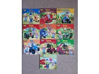 Bob the Builder books bundle 1 to 10 series by Egmount - AS NEW/ideal gift for christmas