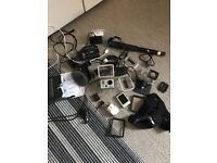 GoPro Hero 2 and accessories
