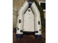 Inflatable 2.6 m Air floor dinghy