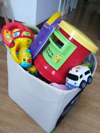 Toddlers toys: Vtech, LeapFrog, cars, games, puzzles etc
