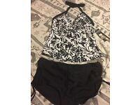 BNWT Boots 2pc tankini swimwear - Size 14