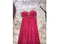 Woman's pink formal dress, size XXS jora collection