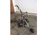 Powacaddy golf trolley, battery & charger