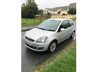 2007 Ford Fiesta only 26k warranted miles 1.4 Silver 3 door