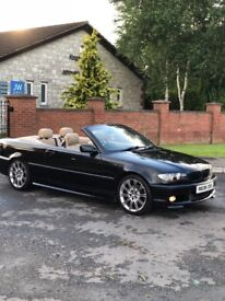 VERY RARE FACELIFT 2005 BMW 320CD M SPORT Convertible for sale, may swap or px