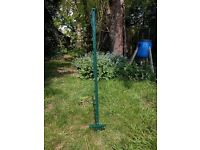 20 polly posts -5ft ,2inches green