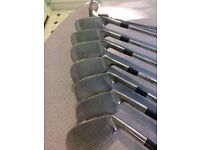 Set of Mens Left Handed Golf Clubs - 4I to PW Plus Putter