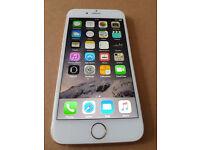 Apple iPhone 6 64GB O2 Network. White/Gold. Good Condition