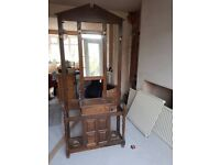 Free to collect oak coat stand