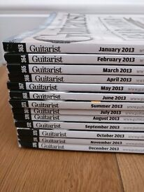 Guitarist magazine collection 2009-2016 Issues 319 - 414