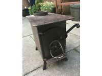 WOODBURNER, small suitable for boat, shed, etc.