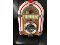 Steepletone MP3 CD rock mini jukebox retro CD player