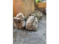 Garden Boulders / Large Rockery Stones 300-600+mm