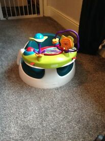 Mamas and papas bumbo seat with activity tray